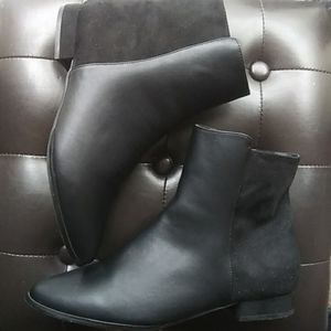 The Adrianne Bootie by Comfortview® in Black